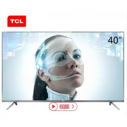 TCL 43A730U 43英寸30核人工智能纤薄金属机身HDR 4K液晶电视机