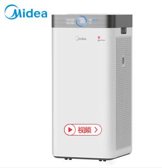 美的(Midea)KJ550G-JA32空气净化器 家用静音除甲醛雾霾二手烟PM2.5