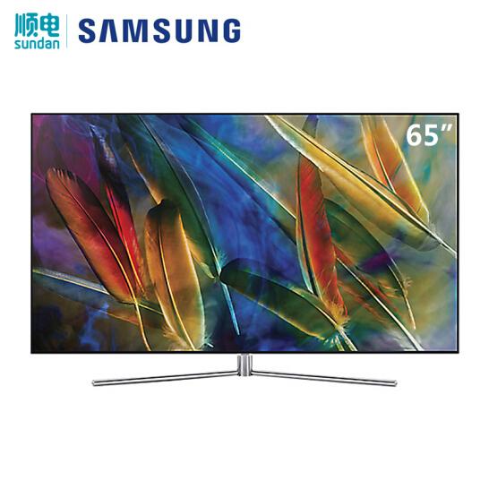 三星(SAMSUNG)65英寸 智能4K 量子点 平面电视QA65Q7FAMJXXZ