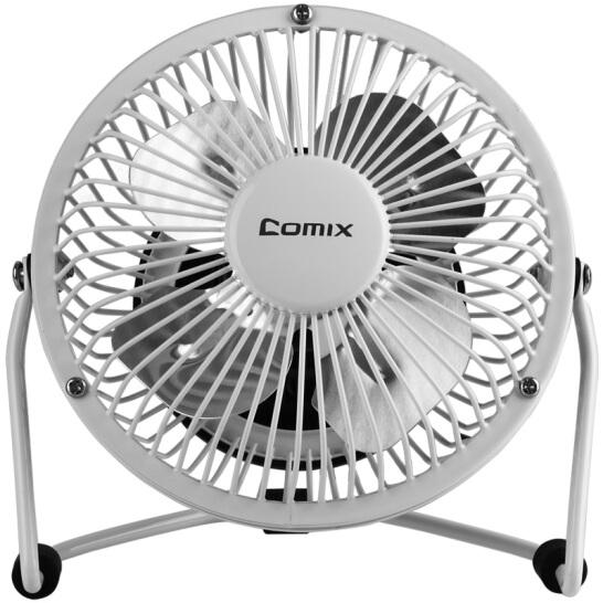 齐心(COMIX)电风扇/USB风扇/学生宿舍迷你小风扇 白色 办公文具L602