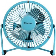 齐心(COMIX)电风扇/USB风扇/学生宿舍迷你小风扇 蓝色 办公文具L602