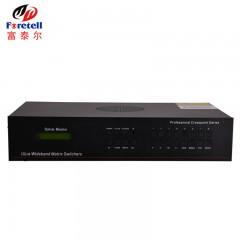 富泰尔 HDMI矩阵主机8进8出网络数字监控服务器/切换器/拼接控制