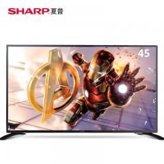 夏普(SHARP)LCD-45T45A  45英寸超薄液晶网络智能平板电视机