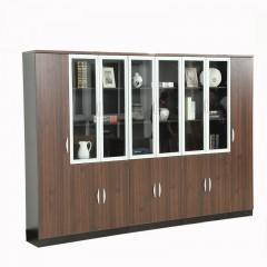 靓芙家具办公柜子文件柜木质带锁资料柜档案储物柜板式办公室书柜